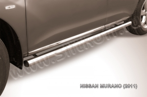 NISSAN MURANO (2011)-Пороги d57 труба